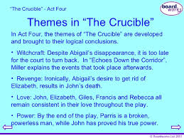 crucible analysis essay the crucible analysis essay
