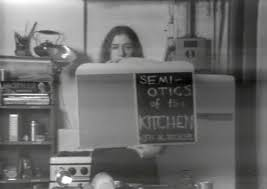 Lovely Martha Rosler. Semiotics Of The Kitchen. 1975
