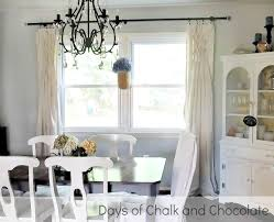 Drop Cloth Curtains Tutorial Smocked Drop Cloth Curtains Days Of Chalk And Chocolate
