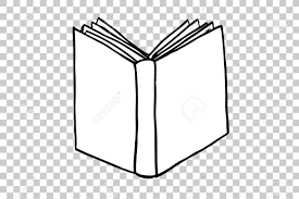 hand draw sketch of book at transpa effect background stock photo 76033304