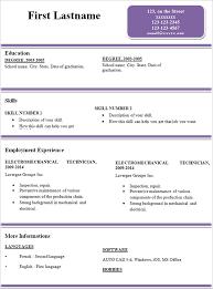 easy resume samples 30052017 simple resumes samples