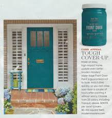 Turquoise front door Paint Colors Betterhomesfdpfeature Save Posted In Front Door Freeimagescom Front Door Makeover Modern Masters Cafe Blog
