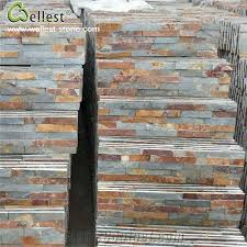 natural rusty slate ledge stone exterior wall decorative stone veneer wall cladding stone veneer interior wall cladding stone panel wellest industry inc