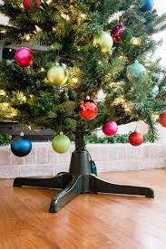 Rotating Christmas Tree Stand Stand, Ornament Display Trees