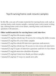 Cook Resume top10000nursinghomecookresumesamples100507230100003505lva100app6100009100thumbnail100jpgcb=1001003761000552 57