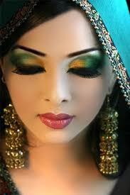 step by step arabic party wear bridal eye plete face makeup tutorial with pictures 12