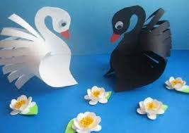 Image result for paper swan craft