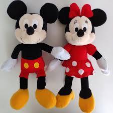 1 PC Disney 30 cm Anime Chuột Mickey Minnie Nhồi Bông Sang Trọng ...
