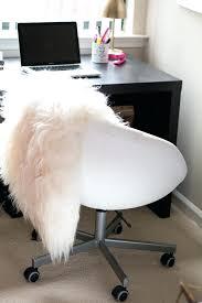 remarkable desk office white office. Fur Desk Chair Ebay Remarkable Office With White Color And Fluffy Rug Mat Target U