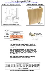Cabinet Door Hinge Fitting our home from scratch how to install