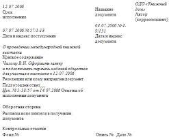 Пример исходящих документов Исходящие документы Как видно порядковый регистрационный номер входящего документа запроса и порядковый регистрационный номер исходящего документа ответа совпадают