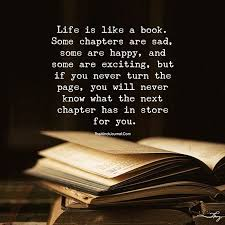 Book Quotes About Life Fascinating Life Is Like A Book Themindsjournal Pinterest Books