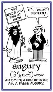 Word Information - search results for: augury