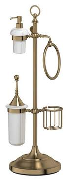 <b>Стойка</b> 3SC Stilmar UN STI 535 с <b>5</b>-<b>ю аксессуарами</b> для туалета с ...