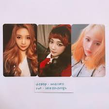 Dm Me To Purchase Official Red Velvet Joy Photocards Ice Depop