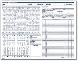 Manual Charting In Dentistry Clinical Forms Make Dental Charting Easy Smartpractice Dental