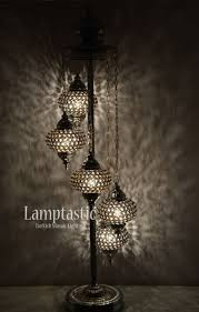 turkish standing lamps good stunning chandelier floor lamp lamptastic of exciting home decorating unusual teal reading rustic beautiful spider