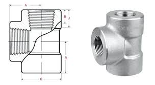 Pipe Tee Dimensions Chart Black Pipe Fitting Dimensions Threaded Tee Chart 1 2 Equal