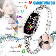 H8 Smart Watch Bracelet Exquisite Women's Bracelet Alloy ... - Vova