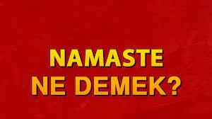 Namaste ne demek? Namaste anlamı nedir ve neden kullanılır? - Son Dakika  Haberler