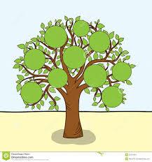 Family Tree Vector Stock Vector Illustration Of Blank 25541964