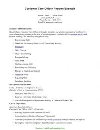 Customer Care Officer Resume Newest Customer Retention Manager Resume Account Relationship 1