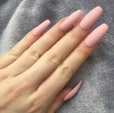 Light Pink Matte Nail Polish Baby Pink Matte Ballerina