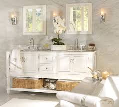 White bathroom medicine cabinets Build Your Own Pottery Barn Sonoma Recessed Medicine Cabinet Pottery Barn