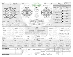 Rpg Character Sheet Designer What Is The All Time Worst Character Sheet Youve Ever Seen