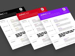Resume Templates Sketch Freebie Download Free Resource For Sketch