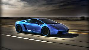 lamborghini gallardo wallpaper blue. blue highlighted lamborghini gallardo picture wallpaper o