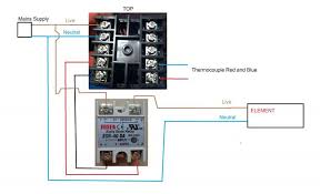 4 in 1 pid kit digital temperature control 40a ssr heat sink k photo pidwiring jpg