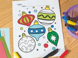 The 10 best christmas ornament coloring pages for kids: Christmas Ornament Free Printable Coloring Page Fun365