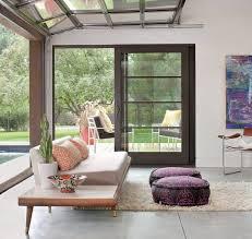 modern roll up garage door design eliminates the border between indoors and outdoors