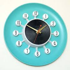 teal wall clock appealing antique kitchen wall clocks vintage wall clock with pendulum white wall home vintage round blue teal blue wall clock