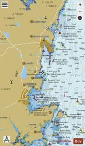 Camden Rockport And Rockland Harbors Me Marine Chart