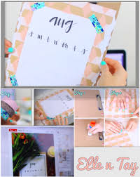 Simple Diy Bedroom Decor This Cute Fun And Simple Diy Hanging Calendar Will Keep You