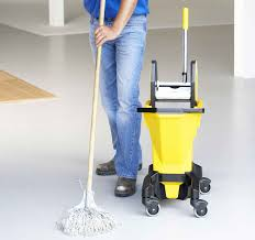 replace mop and bucket cleaning
