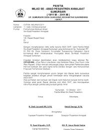 Proposal lomba dalam rangka memperingati hut ri. Contoh Proposal Formal Dan Non Formal Guru Ilmu Sosial