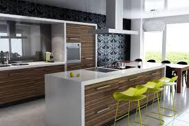 Modern Kitchen Island Design modern kitchen island design oak wood wall kitchen cabinet green 1061 by uwakikaiketsu.us