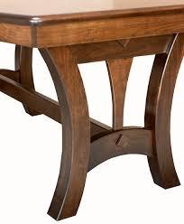 Amish Furniture Kitchen Island Grand Island Trestle Table Amish Direct Furniture