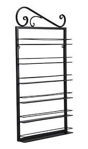 decorative nail polish rack with 6 shelves