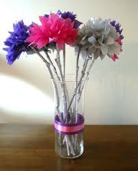 Paper Flower Wedding Decorations My Diy Tissue Paper Flower Wedding Centerpieces My Girlish Whims