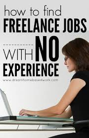 how to lance jobs no experience