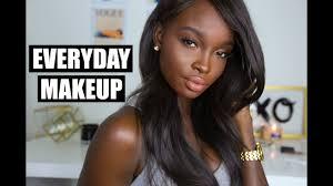 my updated everyday makeup routine dark skin