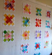 Pick a Plum Quilt on the design wall | blooming poppies & Pick a Plum Quilt on the design wall. Â« Adamdwight.com