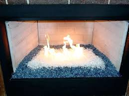 fireplace glass rocks installation ve fireplace design ideas 2018