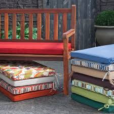 Outdoor Corded Bench Cushion Making Outdoor Bench Cushions Patio