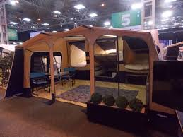 Camper Trailer Kitchen Designs Caravan Camping Motorhome Show 2015 Folding Camper Trailer