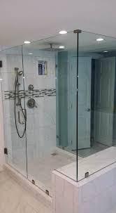 glass shower doors frameless door cost estimate